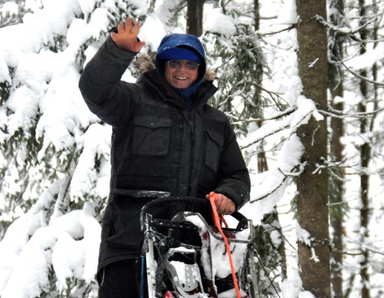 Bjørn Jensen - Treningshjelp Foto: Anne Karang